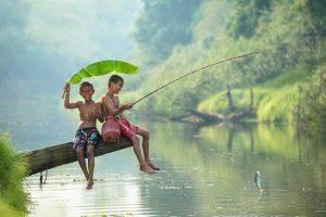 Mơ thấy đi câu cá